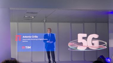 Tim presenta il 5G all'Autodromo Nazionale di Monza in occasione del Monza Rally Show