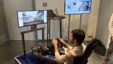 Tim presenta il 5G: la guida da remoto al Monza Rally Show