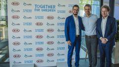 Luca Argentero e Kia: collaborazione a sostegno dei bambini - Immagine: 1