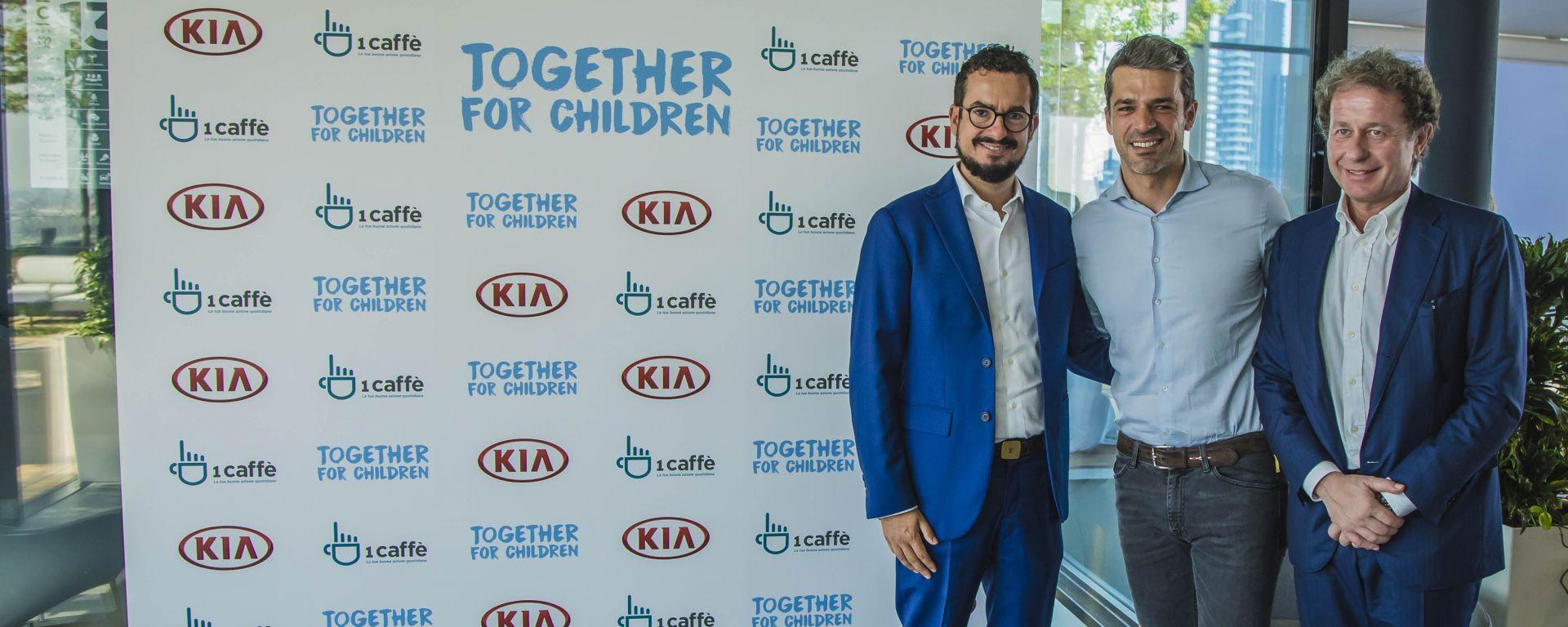 Luca Argentero e Kia: collaborazione a sostegno dei bambini