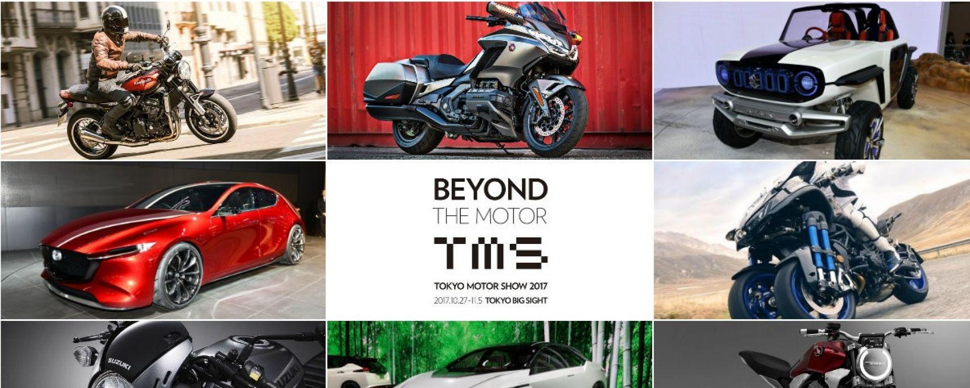 Tokyo Motor Show 2017: le migliori novità auto e moto