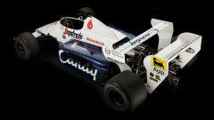 Toleman Hart TG184 Ayrton Senna (vista posteriore)