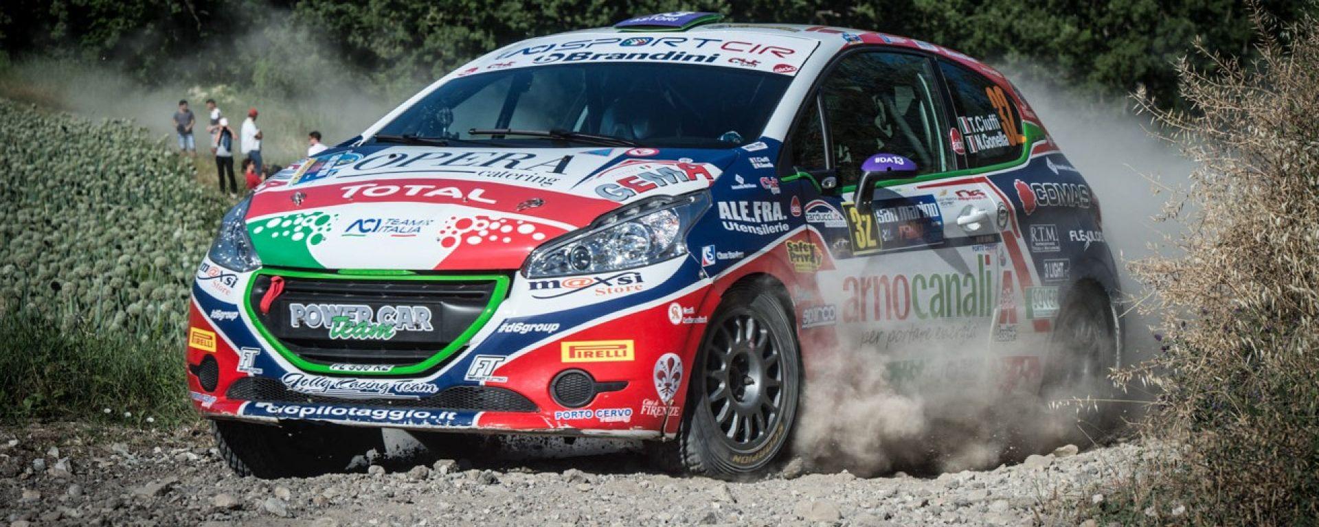 Tommaso Ciuffi conquista anche il Peugeot Competition CLUB