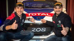 Tommaso Ciuffi e Nicolò Gonella - Peugeot Sport Italia