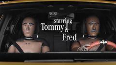 Tommy e Fred sono i manichini protagonisti di Crash Tales su YouTube