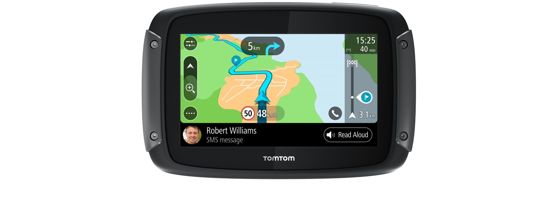 tomtom rider 550 vs waze e google maps recensione gps da. Black Bedroom Furniture Sets. Home Design Ideas