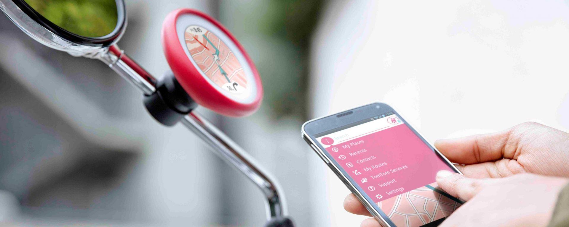 TomTom VIO: il navigatore GPS pensato per lo scooter