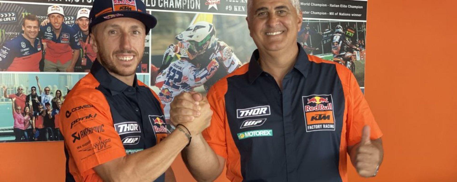 Tony Cairoli e Claudio De Carli (KTM)