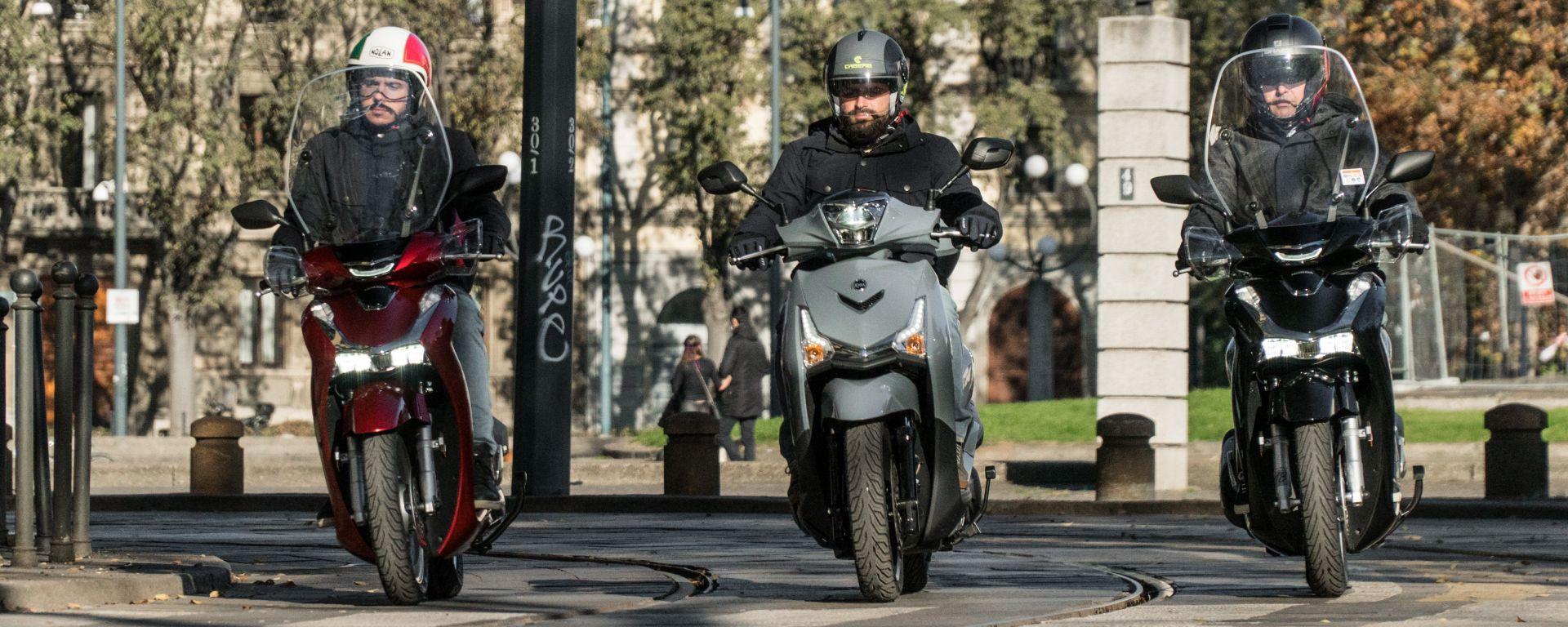I 10 scooter più venduti in Italia