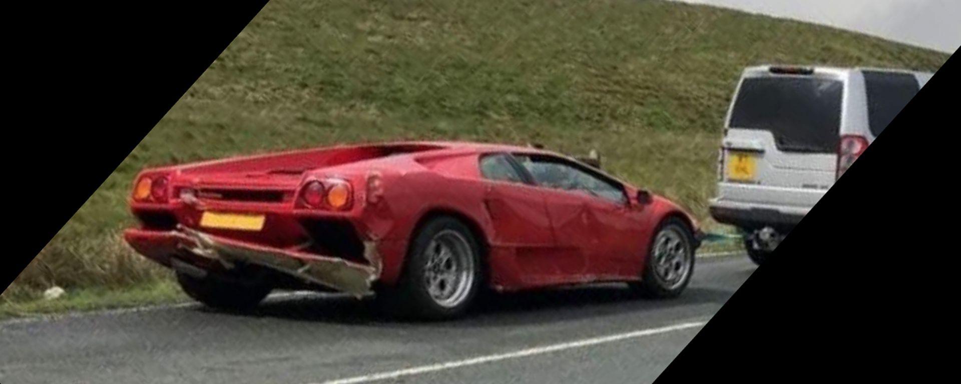 Top Gear: disavventura per Paddy McGuinnes con Lamborghini Diablo