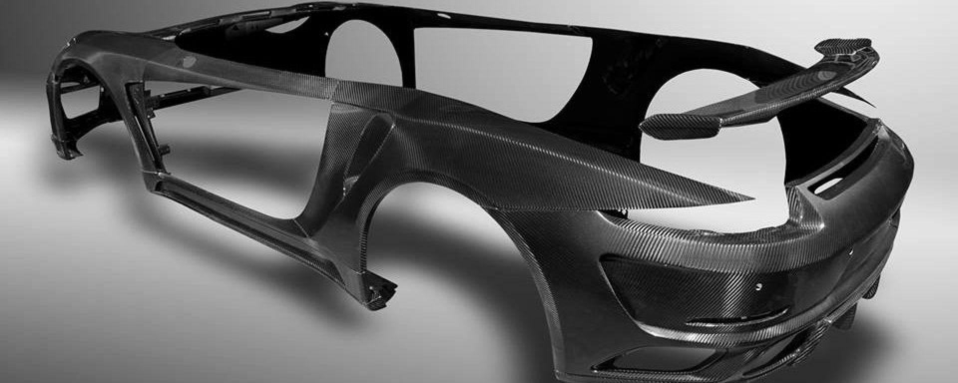 Topcar: un body kit in carbonio per la Porsche 911 Turbo