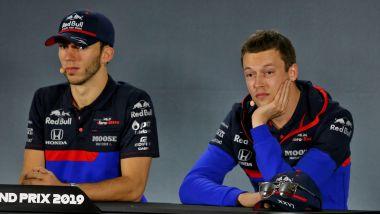 Toro Rosso 2019, Pierre Gasly vs Daniil Kvyat