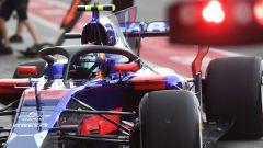 Toro Rosso STR12 con Halo