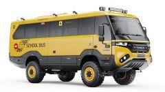 Torsus Praetorian School Bus, vista 3/4 anteriore