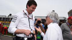 Toto Wolff e Bernie Ecclestone - Formula Uno 2016