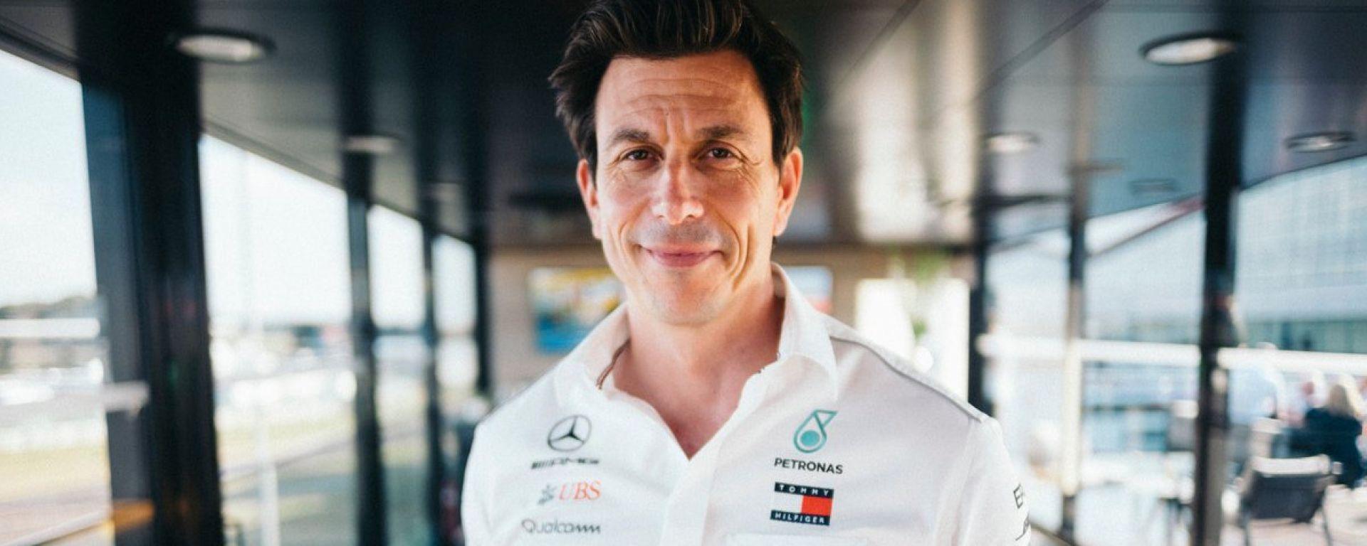 Toto Wolff, Mercedes-AMG Petronas F1 Team