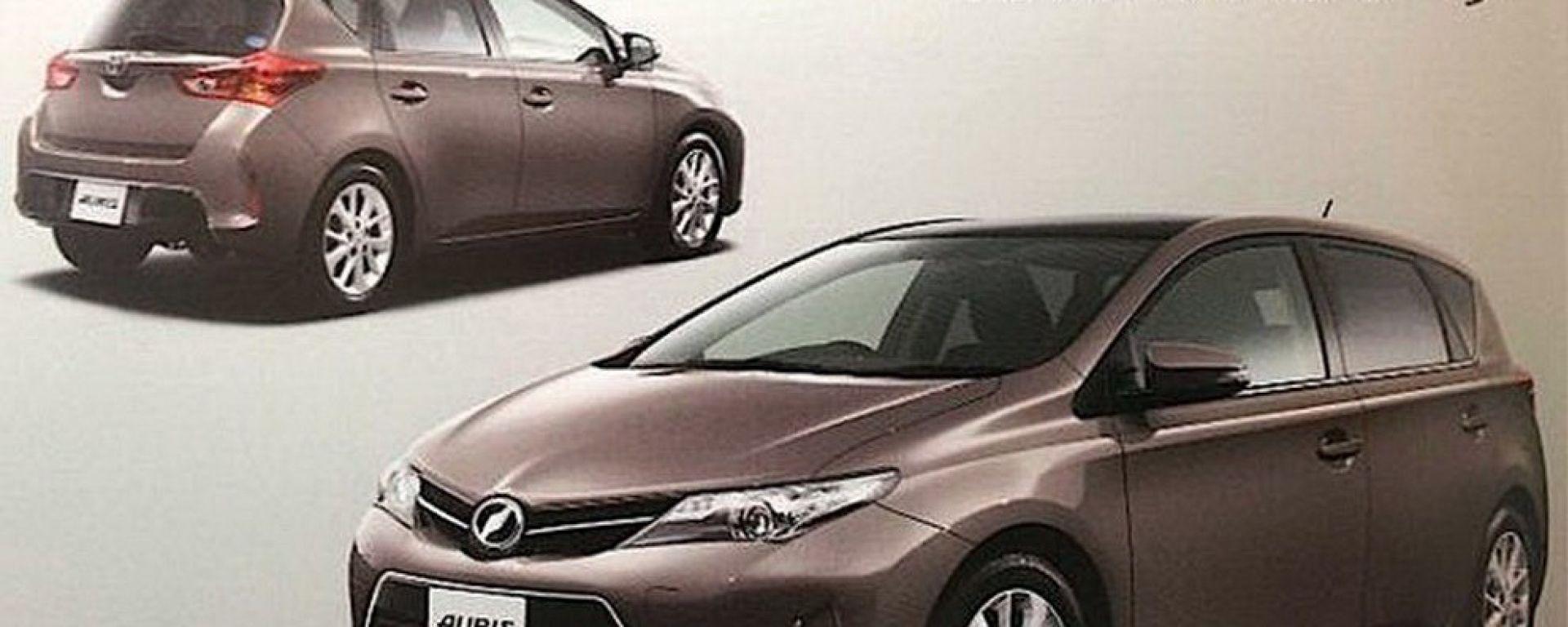 "Toyota Auris 2013, nuove immagini ""rubate"""