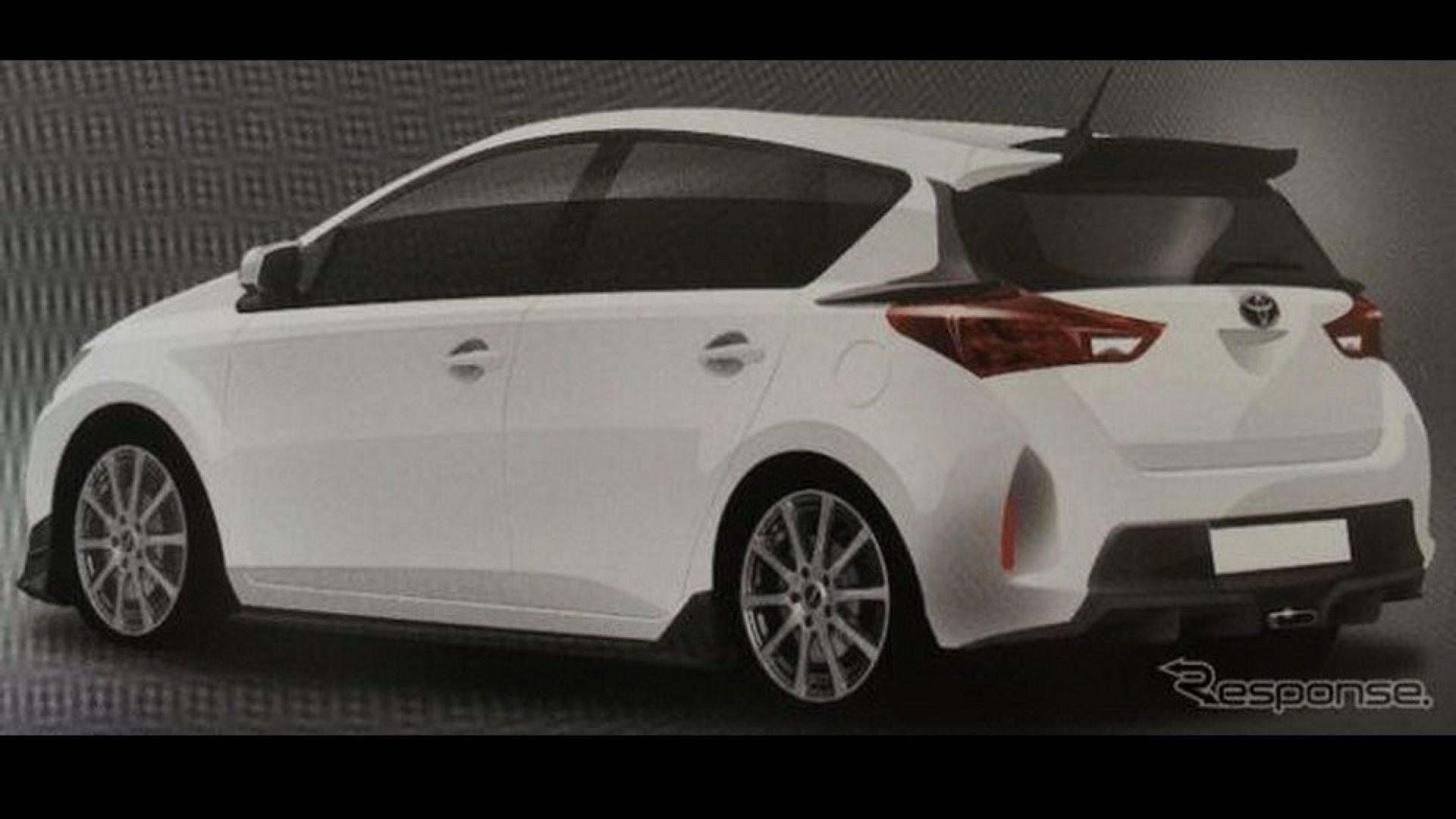 Anteprima Toyota Auris 2013 Nuove Immagini Quot Rubate