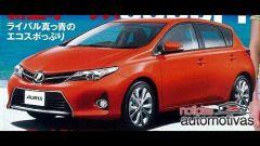 "Toyota Auris 2013, nuove immagini ""rubate"" - Immagine: 12"