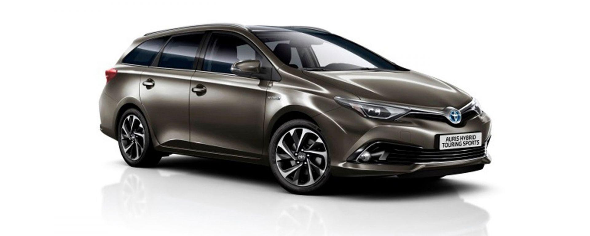 Toyota Auris: ecco il model year 2016