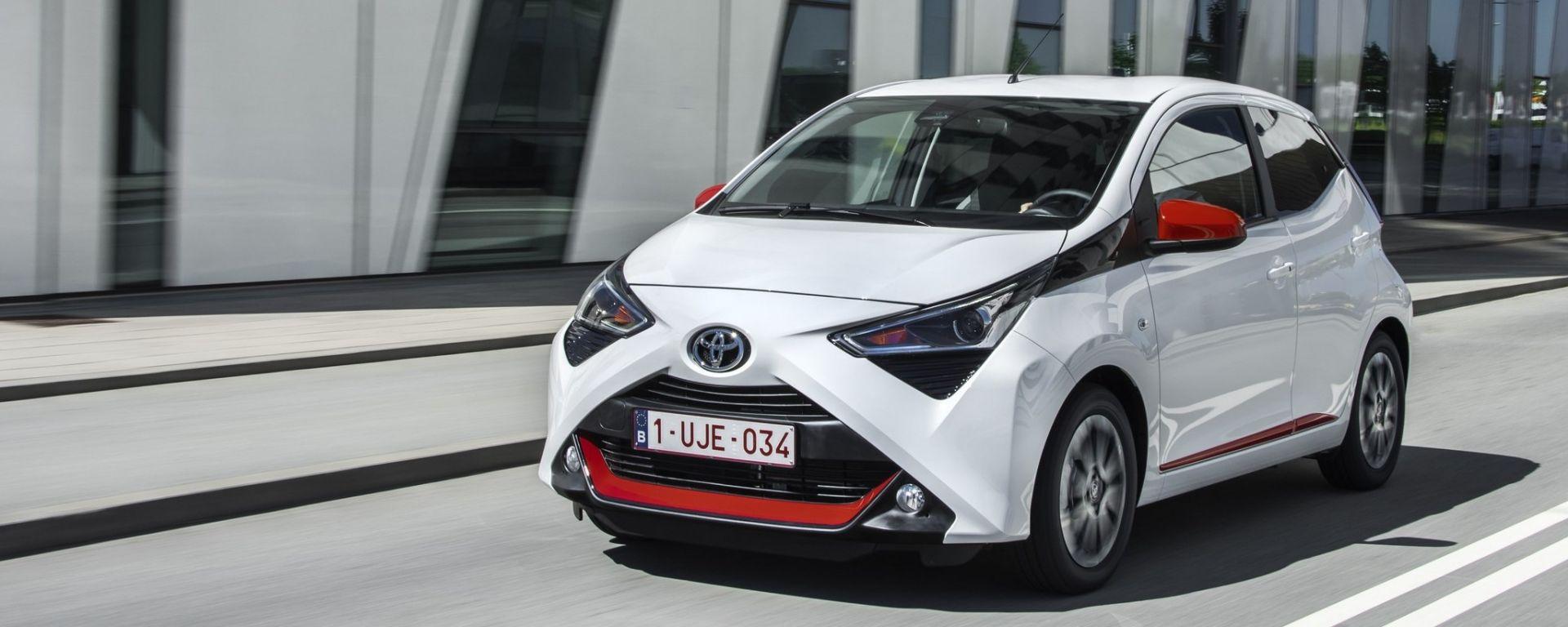 Toyota Aygo 2018: la prova della versione restyling