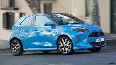 Toyota Aygo 2022: le prime immagini di come potrebbe essere