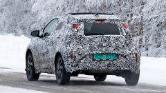 Toyota Aygo 2022: visuale posteriore