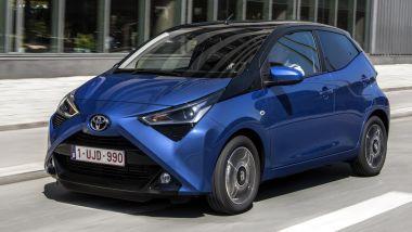 Toyota Aygo, prezzi da 12.000 euro