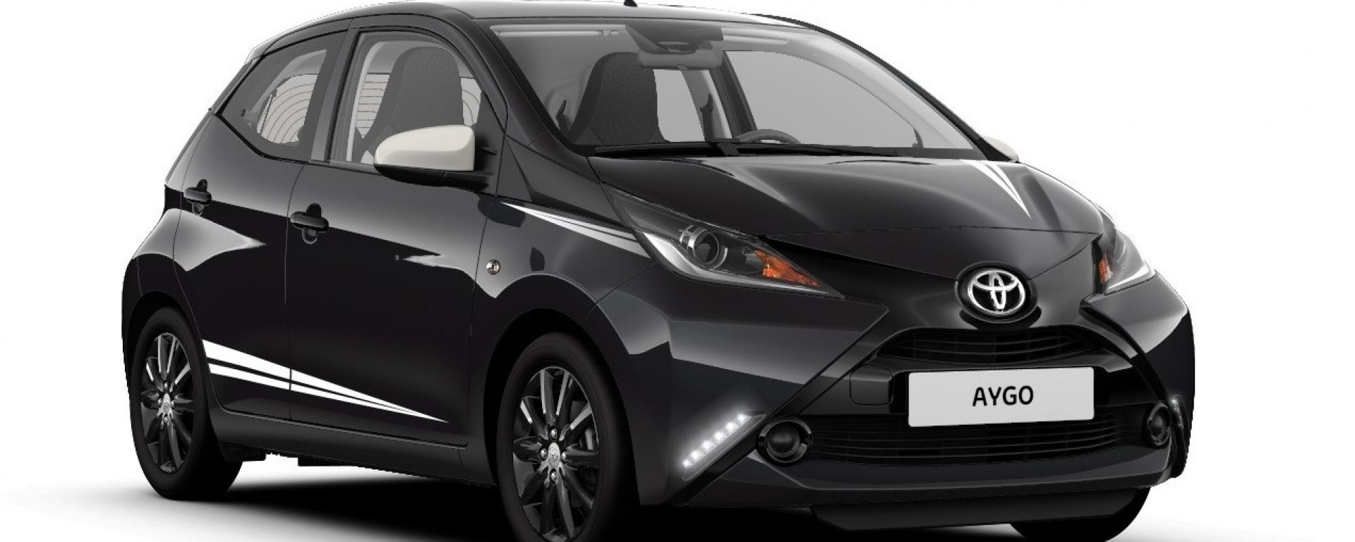 Toyota Aygo X-Black Limited Edition: carrozzeria in colore Midnight Black