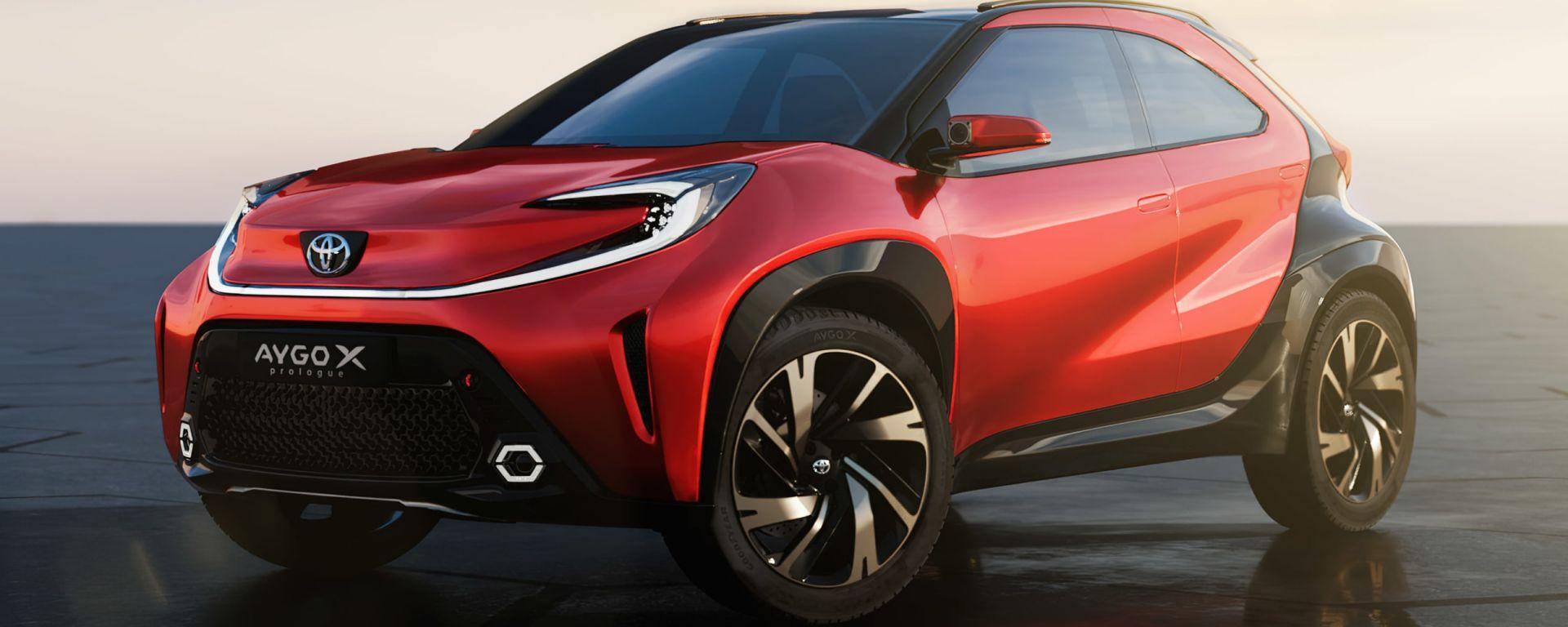 Toyota Aygo X Prologue: disegnato nel centro stile Toyota di Nizza