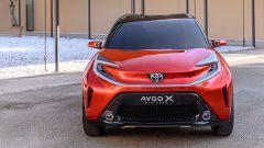 Toyota Aygo X Prologue: il design dei fari anteriori a LED