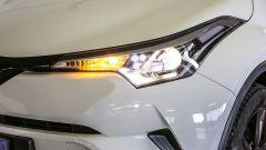 Toyota C-HR 1.2 Active: dettaglio del faro