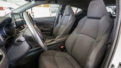 Toyota C-HR 1.2 Active: i sedili anteriori