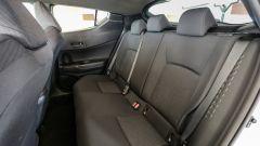 Toyota C-HR 1.2 Active:  i sedili posteriori