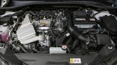 Toyota C-HR 1.2 Active: il motore a benzina