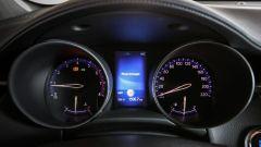 Toyota C-HR 1.2 Active: il quadro strumenti