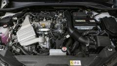 Toyota C-HR 1.2 Turbo benzina: il motore