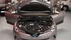Toyota C-HR 1.8 Hybrid, il vano motore