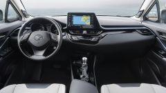 Toyota C-HR 2020, gli interni