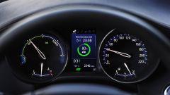 Toyota C-HR 2020, l'Hybrid Coach sul quadro strumenti