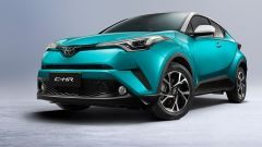 Toyota CHR: la crossover hybrid ora è anche 100% elettrica
