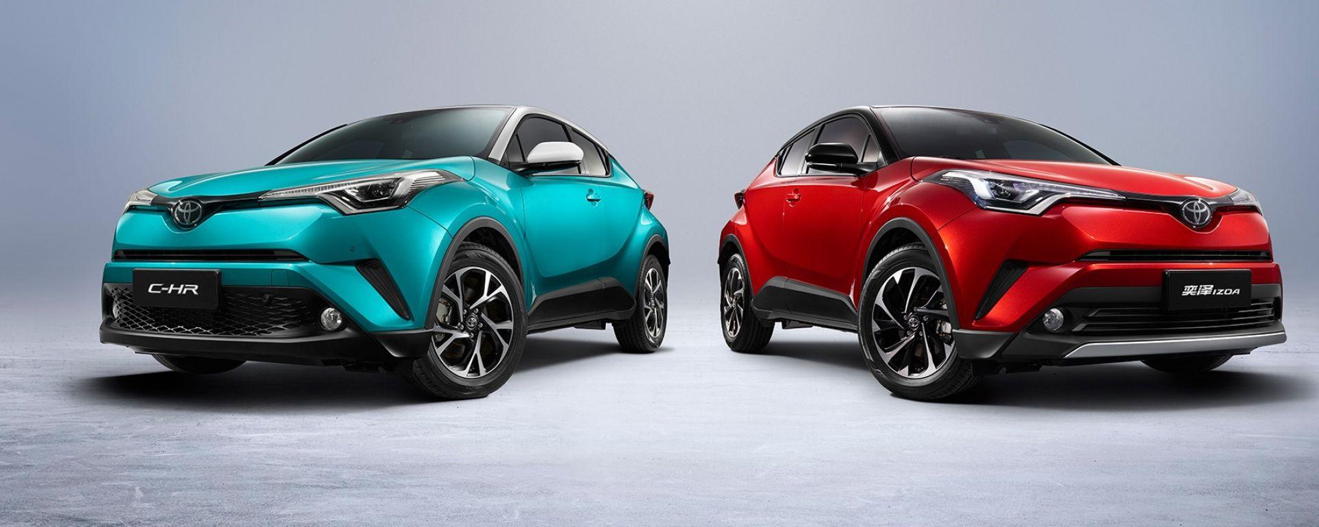 Toyota C-HR elettrica, debutto al salone di Pechino