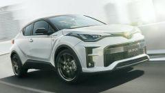 Toyota C-HR GR Sport, crossover sportivo. Foto e dati tecnici