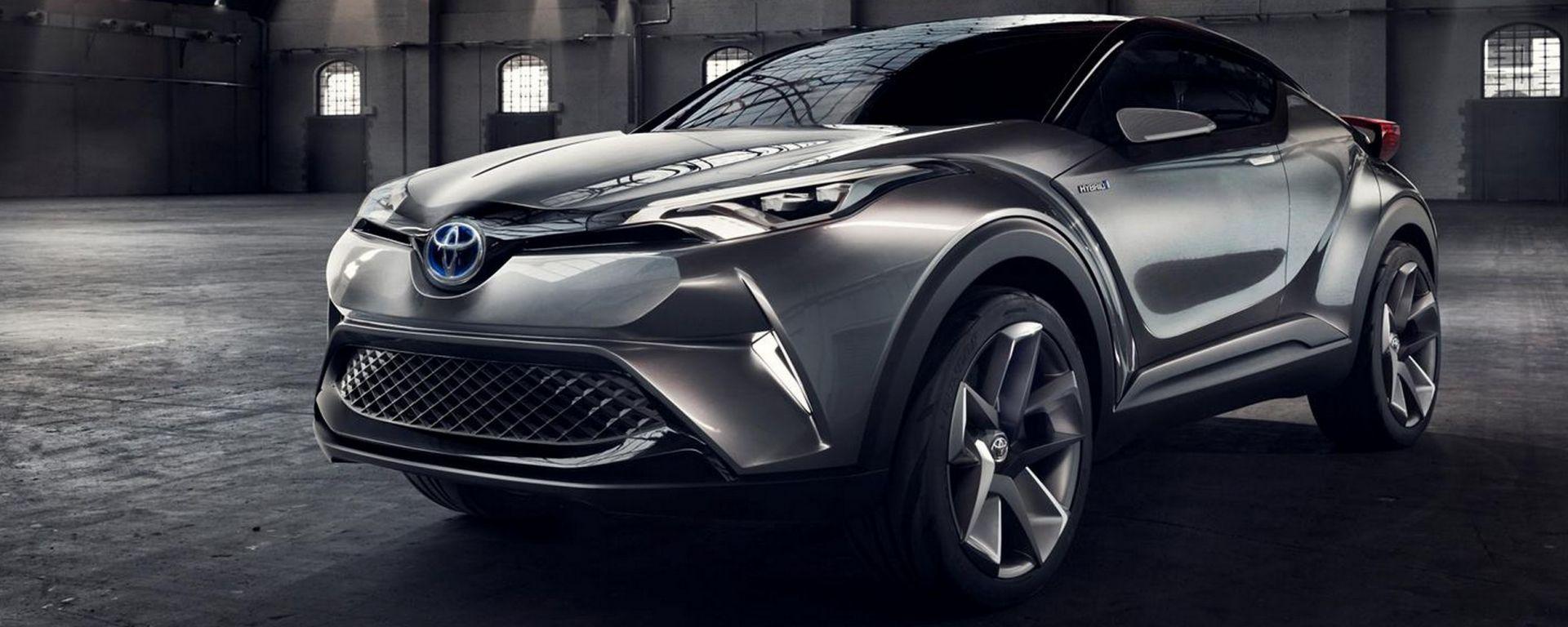 Toyota c-hr hybrid concept