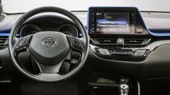 Toyota C-HR Hybrid: la plancia