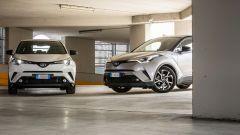 Toyota C-HR Hybrid  o Toyota C-HR 1.2 Turbo: quale scegliere?
