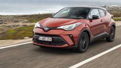Toyota C-HR Hybrid restyling 2020: allestimenti, prova, prezzi