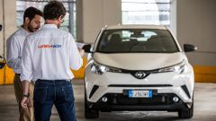 Toyota C-HR Hybrid  vs Toyota C-HR 1.2 Turbo: backstage