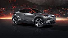 Toyota C-HR ibrida, in arrivo motorizzazioni più potenti