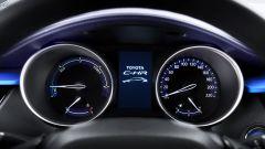 Toyota C-HR: la strumentazione analogica